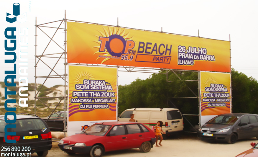 Top Fm Beach Party - Barra
